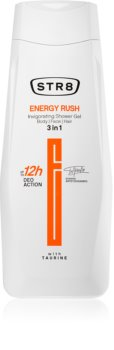 STR8 Energy Rush sprchový gel pro muže