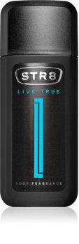 STR8 Live True spray corporel parfumé pour homme