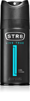 STR8 Live True (2019) Deodoranttisuihke Liittyvä tuote Miehille