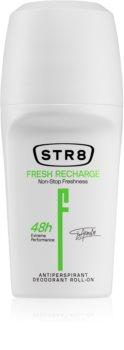 STR8 Fresh Recharge Antiperspirant Roll-On for Men