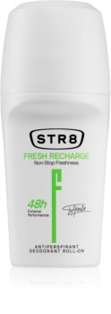 STR8 Fresh Recharge Antiperspirantti Roll-on Miehille