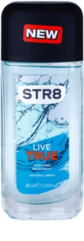 STR8 Live True desodorizante vaporizador para homens 85 ml
