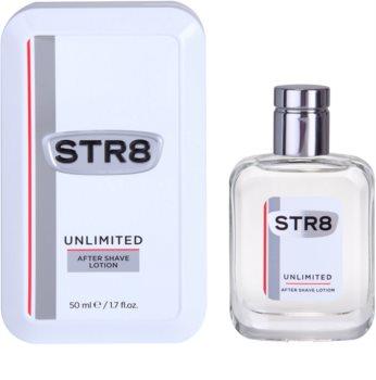 STR8 Unlimited voda po holení pro muže 50 ml