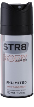 STR8 Unlimited deodorant Spray para homens 150 ml