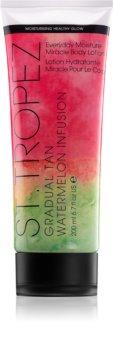 St.Tropez Gradual Tan Watermelon Infusion Self-Tanning Body Cream for Gradual Tan