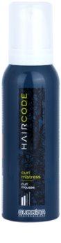 Subrina Professional Hair Code Curl Mistress espuma fijadora para cabello ondulado