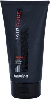 Subrina Professional Hair Code Ego Trip gel za lase ultra močna fiksacija