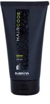 Subrina Professional Hair Code Splash gel cheveux effet mouillé