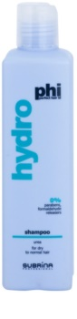 Subrina Professional PHI Hydro hydratačný šampón pre suché a normálne vlasy