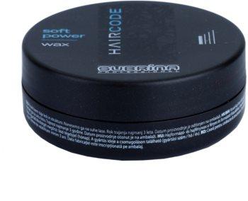 Subrina Professional Hair Code Soft Power cera de cabelo para fixação e forma