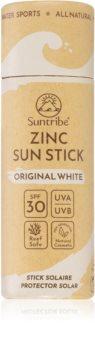 Suntribe Sports Zinc Stick minerální ochranná tyčinka na citlivá místa SPF 30