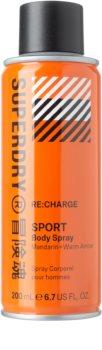 Superdry RE:charge spray do ciała dla mężczyzn