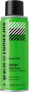 Superdry RE:active Kropsspray til mænd