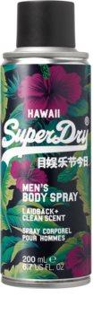 Superdry Hawaii спрей за тяло  за мъже