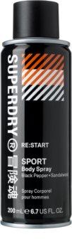 Superdry RE:start spray pentru corp pentru bărbați