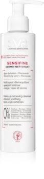 SVR Sensifine leche limpiadora calmante para pieles sensibles con tendencia a las rojeces