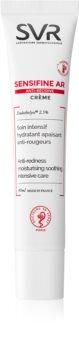 SVR Sensifine AR creme de hidratação intensiva para pequenos derrames no rosto