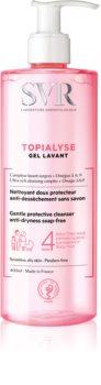 SVR Topialyse почистващ гел  за суха и чувствителна кожа