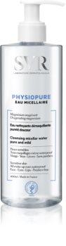 SVR Physiopure нежна почистваща мицеларна вода за зоната на лицето и очите