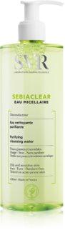 SVR Sebiaclear Eau Micellaire apa micelara cu efect de matifiere pentru ten gras si problematic
