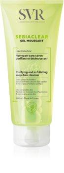 SVR Sebiaclear Gel Moussant gel detergente in schiuma per pelli grasse e problematiche