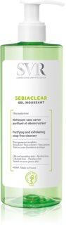 SVR Sebiaclear Gel Moussant gel espumoso de limpeza para pele oleosa e problemática