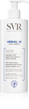 SVR Xérial 10 feuchtigkeitsspendende Body lotion für trockene Haut