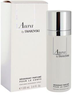 Swarovski Aura deodorant spray para mulheres 100 ml