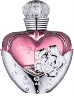Swiss Arabian Crystal Rose Eau de Parfum für Damen