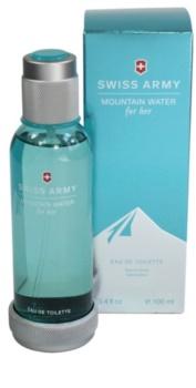 Swiss Army Mountain Water Woman eau de toilette para mulheres 100 ml