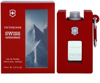 Victorinox Swiss Army Swiss Unlimited eau de toilette para hombre 75 ml