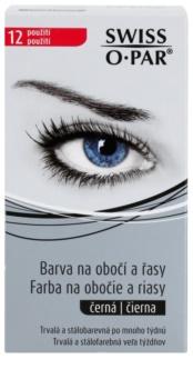 Swiss O.Par Color Kit tinte para cejas y pestañas