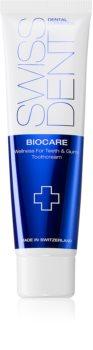 Swissdent Biocare регенериращ и избелващ крем за зъби