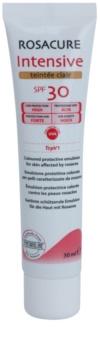 Synchroline Rosacure Intensive tonizáló emulzió érzékeny és bőrpírre hajlamos bőrre SPF 30