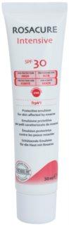 Synchroline Rosacure Intensive ochranná emulzia pre citlivú pleť so sklonom k začervenaniu SPF 30