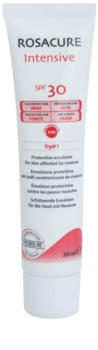 Synchroline Rosacure Intensive zaštitna emulzija za osjetljivu kožu lica sklonu crvenilu SPF 30