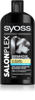 Syoss Salonplex Shampoo for Bleached and Blond Hair