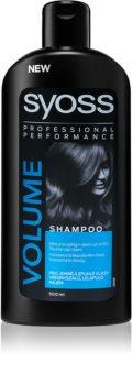 Syoss Volume Collagen & Lift champô para cabelo fino e sem volume