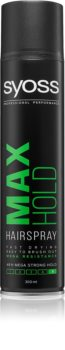 Syoss Max Hold Hairspray With Extra Strong Fixation