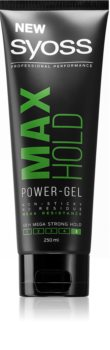Syoss Max Hold gel de păr cu fixare puternică pentru barbati