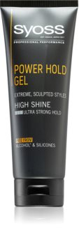 Syoss Men Power Hold Styling Gel mit extra starker Fixierung