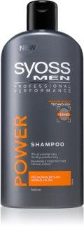 Syoss Men Power & Strength champô para cabelos fortes
