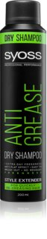 Syoss Anti Grease suchý šampon
