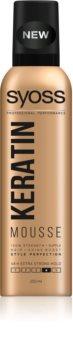 Syoss Keratin pěnové tužidlo s keratinem