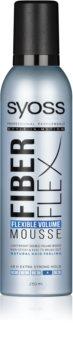 Syoss Fiber Flex Muotoiluvaahto Hiusten Volyymiin