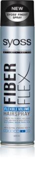 Syoss Fiber Flex lak na vlasy pro objem vlasů