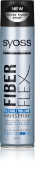 Syoss Fiber Flex лак за коса за обем