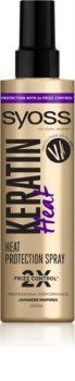 Syoss Keratin προστατευτικό σπρέι για θερμική επεξεργασία μαλλιών