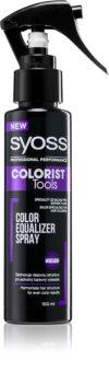 Syoss Colorist Tools spray qui unifie la couleur des cheveux