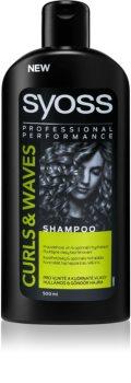 Syoss Curl Me shampoing hydratant pour cheveux bouclés et frisés
